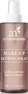 ArtNaturals Natural Makeup Setting Spray - (4 FL Oz / 120ml) - Long Lasting and All Day Extender – Made with Aloe Vera