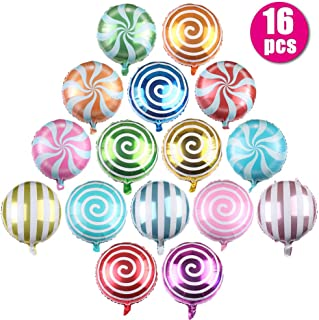 16 Pcs Sweet Candy Balloons, 18