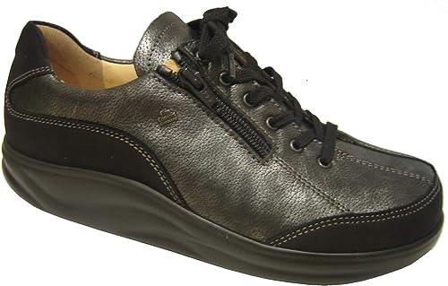 Finn Comfort , , Chaussures de Ville à Lacets pour Femme MultiCouleure Noir  sélectionnez parmi les dernières marques comme