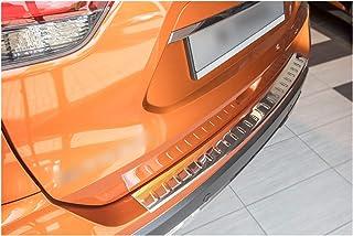 T32 Avisa 2//51025 Protection de seuil arri/ère INOX Noir-Chrom/é Nissan X-Trail III Facelift 2017