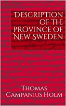 Description of the province of New Sweden