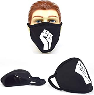 Power Fist Face Cover Cloth Nose and Mouth Washable USA Made Handmade Mask