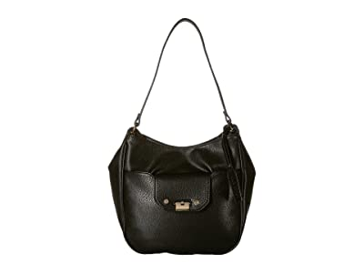 SOLE / SOCIETY Kaii Shoulder Bag (Black) Shoulder Handbags