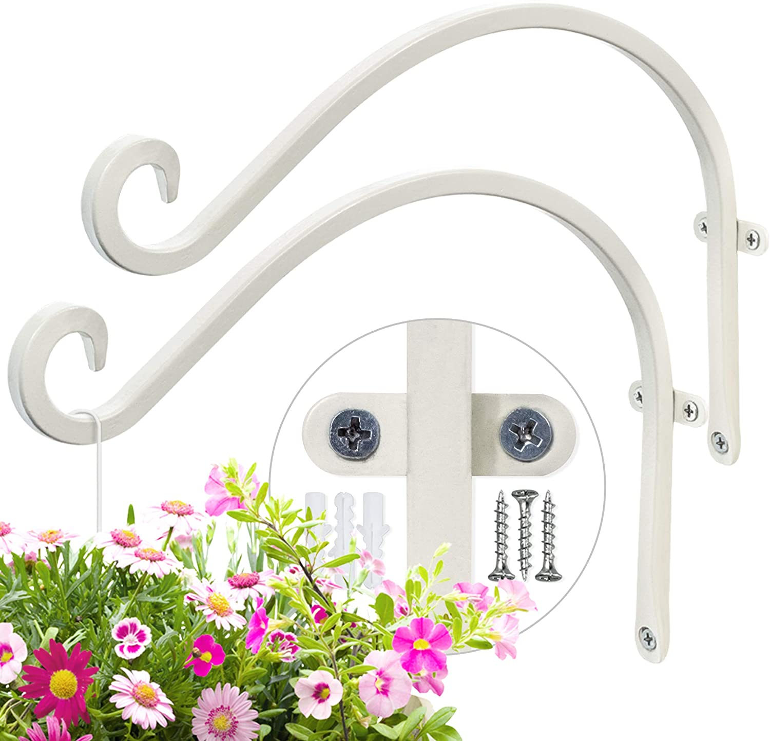AJART Plant Hooks Special sale item Super sale period limited for Wall Pieces 2 - 12Inches