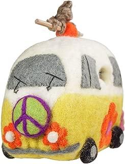Wild Woolies Magic Bus Felt Birdhouse - Fair Trade