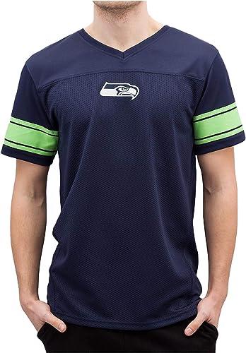 nouveau Era Homme Hauts T-Shirt Team Apparel Supporters Seattle Seahawks