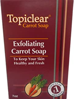 Topiclear Carrot Treatment Soap. 7oz [Misc.]