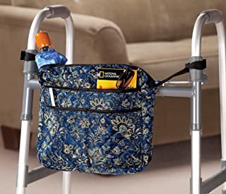 EasyComforts Navy Print Walker/Wheelchair Bag
