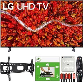 LG 65UP8000PUA 65 Inch 4K UHD Smart webOS TV (2021) Bundle with TaskRabbit Installation Services + Deco Gear Wall Mount + ...