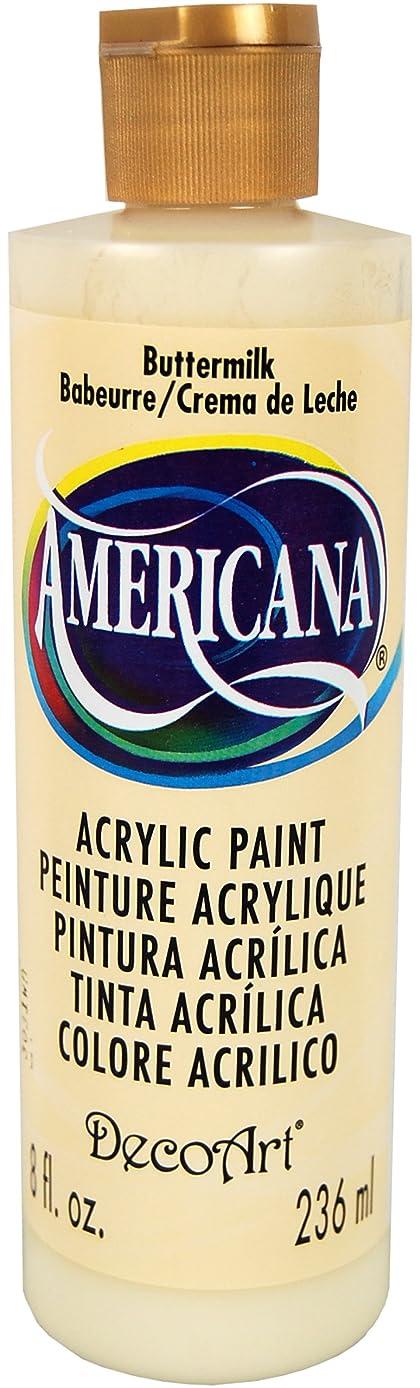 DecoArt DA03-9 Americana Acrylics, 8-Ounce, Buttermilk