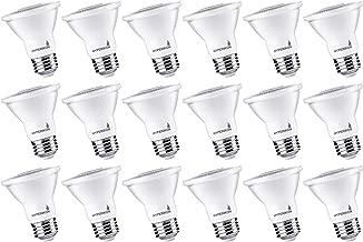 HyperSelect PAR20 LED Bulb 50 Watt (8W), 3000K, Spot Light, Medium Base E26, Non Dimmable, 18 Pack