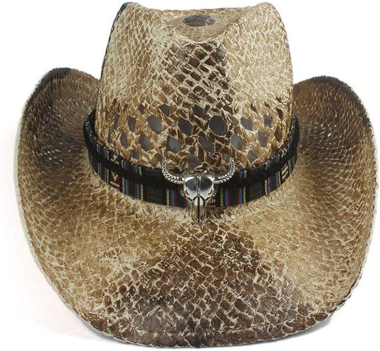 5 Style Women Men Straw Western Max 55% OFF Hat Womem Cowgirl Cowboy Max 86% OFF Summer