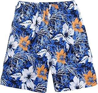 MogogoMen Plus-Size Half Pants Oceanside Baggy Quick Dry Beach Board Shorts