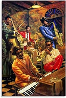 Pop Rock Blues Jazz Music Poster and Canvas Art