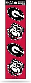 NCAA Die Cut 4-Piece The Quad Sticker Sheet