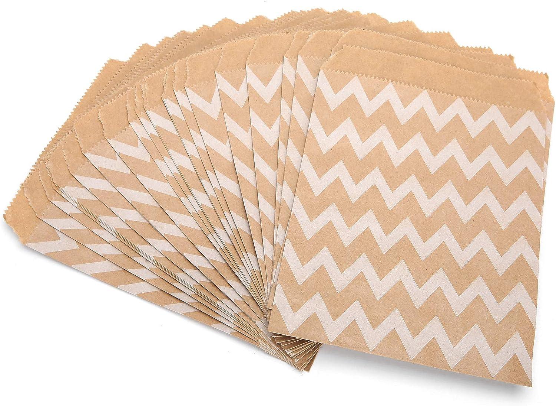 25Pcs Paper Bags Food unisex Bag Ranking TOP19 Foldable Kraft Retail Favor