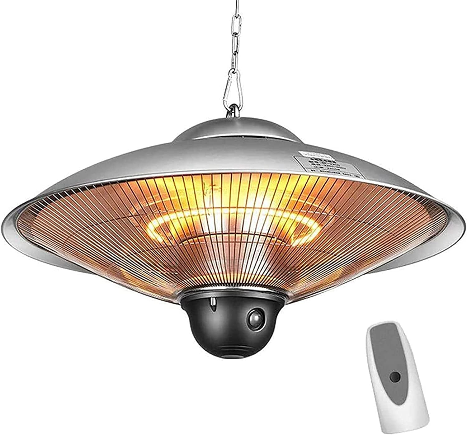 MTTLS 2200W Hanging Heater Outdoor Max 85% OFF Patio Ranking TOP15 Steel Stainless