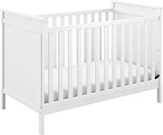 Storkcraft Eastwood 3-in-1 Convertible Crib Easily Converts to Toddler Bed & Day Bed, 3-Position Adjustable Height Mattress