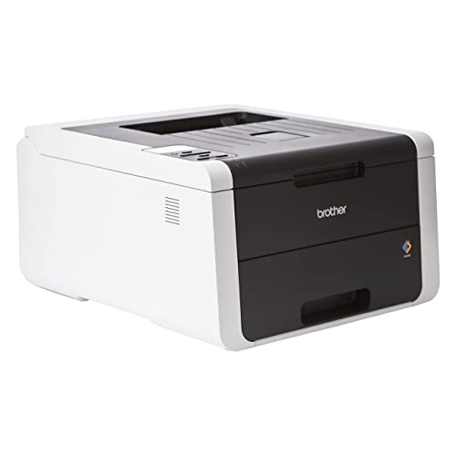 Brother HL-3150CDW - Impresora láser color (WiFi, LED, 64 MB, 333MHz, 335 W, con red cableada) negro/gris