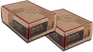 Tube, 700 x 28-35 (27 x 1-1/8 - 1-1/4) 32mm SCHRADER Valve, Sunlite Bicycles