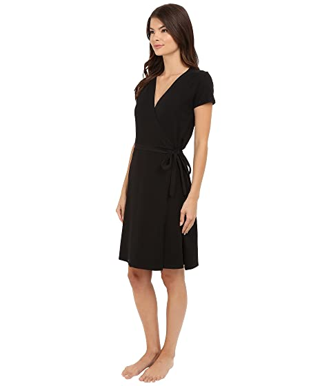 PACT Wrap Dress Black 1 Outlet Where Can You Find Clearance Perfect Shop Offer For Sale vloKHMqBK
