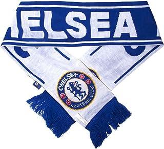Chelsea FC Woven Winter Scarf (Reflux Blue/White)