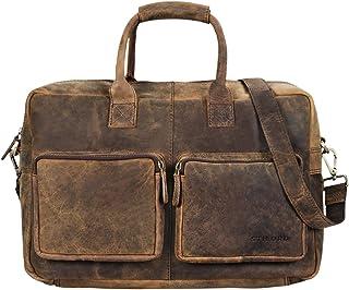 d8f496a5ff90fe STILORD 'Henri' Borsa ufficio lavoro in pelle Cartella uomo donna con tracolla  Porta documenti
