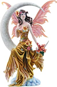 Pacific Giftware Four Elements Celestial Moon Fairy Figurine Earth Wind Frost Fire Collectible Figurine Nene Thomas Art Inspiration Official Licensed Collectible 12 Inch Tall