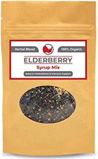 Sponsored Ad - Organic Elderberry Syrup DIY Kit (Makes 18oz) Natural Immune Support with Antioxidants, Vitamins, Minerals ...
