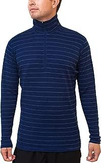 paradox men's 1/4 zip baselayer top