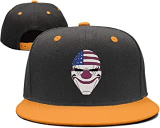 Dallas-Payday- Flat Bill Adjustable Hat Snap Snapback Cap Men & Women Hip-Hop