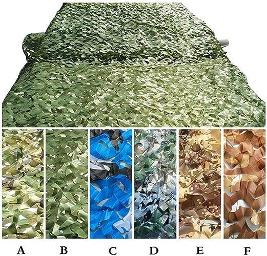 Bache,Filet de camouflage Camouflage Net Oxford Tissu Pour Woodland Camping Abris Forêt Tir Masquer   Choisir Couleur Et Taille Plein air, camping, toit, photographie ( Couleur   F , taille   6m6m )