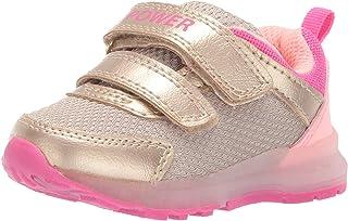 67d8bd485aa3 Carter's Girl's Drew Metallic Light-up Sneaker