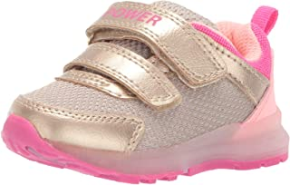 Girl's Drew Metallic Light-up Sneaker