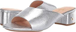 Silver Textured Leather