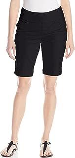 Jag Jeans Womens Shorts Black US Size 16 Bermuda Walking Classic-Fit
