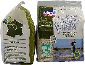 【2個セット】ゲランドの塩 グロ セル セシェ (ソルトミル用 大粒/乾燥タイプ) 500g