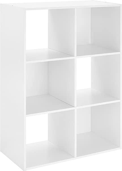 Whitmor 6 Cube Organizer White