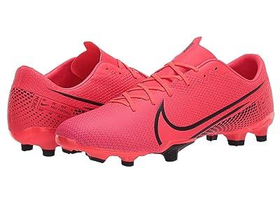 Nike Mercurial Vapor 13 Academy FG/MG (Laser Crimson/Black/Laser Crimson) Cleated Shoes