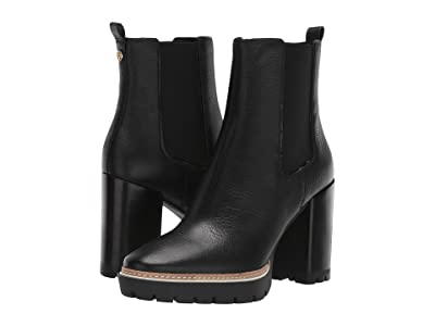 Tory Burch 70 mm Miller Lug Sole Bootie (Perfect Black/Perfect Black) Women
