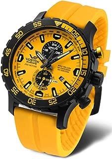Vostok-Europe Expedition Underground Everest Watch Yellow Black YM8J/597C548
