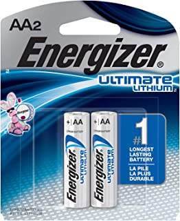 Energizer L91BP2 Ultimate Lithium AA2 Batteries