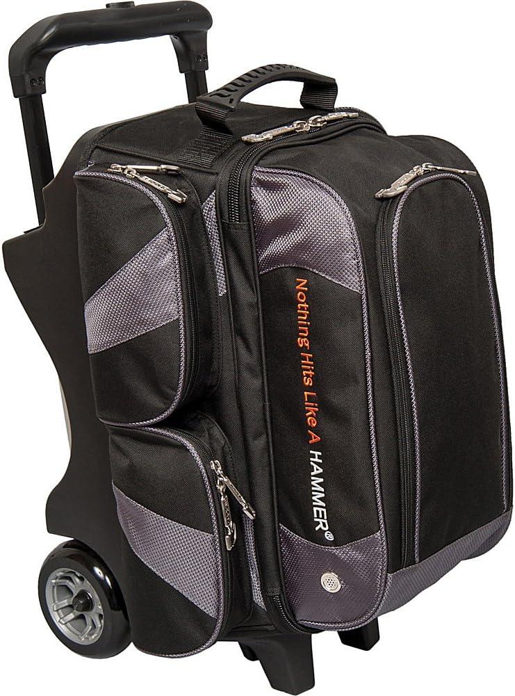 Hammer Vibe Black//White 2 Ball Roller Bowling Bag