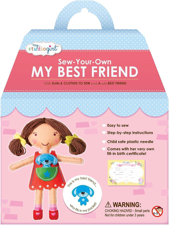 Sew-Your-Own  MY BEST FRIEND   B00BXZI47W | Ein Gleichgewicht zwischen Zähigkeit und Härte