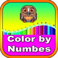 - Perfect relaxing activity for all ages, boys & girls. - Color everything from a kawaii cupcake to a cute unicorn or to a child's sandbox. - Paint by numbers will develops motor skills in toddles. - Excellent time waster game and puzzles to waste yo...