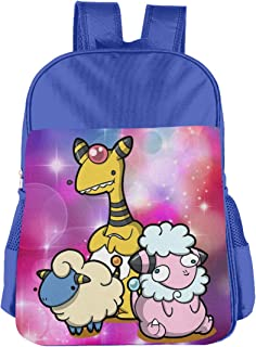 Electric Sheep Pokemon Children's Bags Kid School Bag Boy Girl Backpack