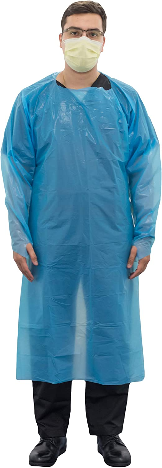 Disposable Ranking TOP13 Isolation NEW before selling ☆ Gown PPE Chlorinated M CPE Polyethylene