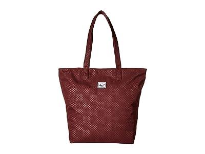 Herschel Supply Co. Mica (Plum Dot Check) Tote Handbags