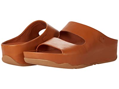FitFlop Shuv Two-Bar Leather Slides