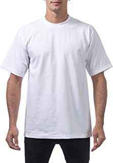 Men's Heavyweight Cotton Short Sleeve Crew Neck T-Shirt